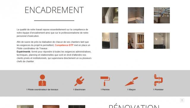 image des sections du site