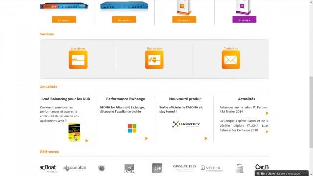 Haproxy Homepage bottom