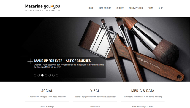 youtoyou.fr website's frontpage