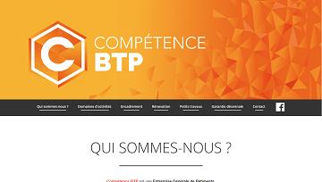 Image du site Competence BTP