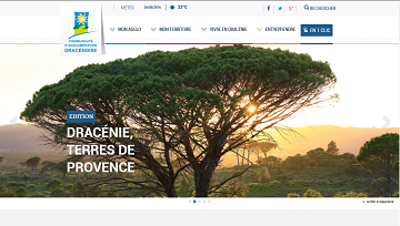 Image du site internet de la Dracénie