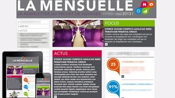 SNCF webzine project