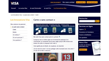 Visa.fr website project